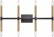 Thomas CN260811 Notre Dame Oil Rubbed Bronze and Gold Chandelier Light