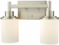 Thomas CN575212 Belmar Brushed Nickel 2-Light Lighting For Bathroom