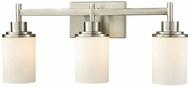 Thomas CN575312 Belmar Brushed Nickel 3-Light Bathroom Light