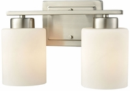 Thomas CN579212 Summit Place Brushed Nickel 2-Light Bath Light Fixture