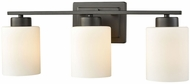 Thomas CN579311 Summit Place Oil Rubbed Bronze 3-Light Bath Lighting Fixture