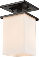 Thomas EN110136 Broad Street Textured Black Exterior Home Ceiling Lighting
