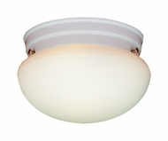 Thomas Lighting SL3268 Ceiling Essentials White Finish 5.5  Tall 2 Light Overhead Lighting Fixture