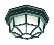 Thomas Lighting SL7457 Outdoor Essentials Black Finish 5  Tall Exterior Ceiling Light