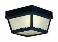 Thomas Lighting SL7577 Plastic Outdoor Black Finish 5  Tall Exterior Ceiling Lighting Fixture