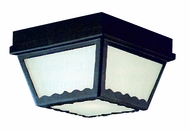 Thomas Lighting SL7597 Plastic Outdoor Black Finish 9.5  Wide Exterior Flush Lighting