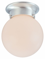 Thomas Lighting SL843678 Ceiling Essentials Brushed Nickel Finish 6  Wide Overhead Lighting