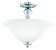 Thomas Lighting SL861078 Whitmore Brushed Nickel Finish 12.5  Tall Home Ceiling Lighting