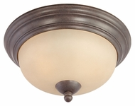 Thomas Lighting SL861522 Triton Sable Bronze Finish 13  Wide Ceiling Lighting