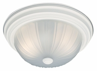 Thomas Lighting SL868218 Ceiling Essentials Textured White Finish 5.5  Tall Ceiling Lighting Fixture