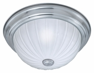 Thomas Lighting SL868278 Ceiling Essentials Brushed Nickel Finish 5.5  Tall Flush Lighting