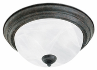 Thomas Lighting SL869222 Ceiling Essentials Sable Bronze Finish 5.5  Tall Flush Mount Lighting Fixture