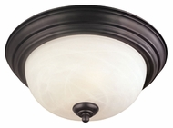 Thomas Lighting SL869363 Ceiling Essentials Painted Bronze Finish 15.5  Wide Home Ceiling Lighting