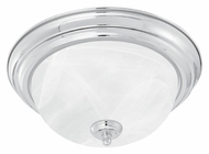Thomas Lighting SL869378 Ceiling Essentials Brushed Nickel Finish 5.5  Tall Overhead Light Fixture