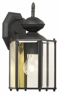 Thomas Lighting SL92427 Brentwood Traditional Black Finish 7 Wide Exterior Lighting Sconce
