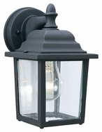 Thomas Lighting SL94237 Outdoor Essentials Traditional Black Finish 5.5 Wide Exterior Wall Mounted Lamp