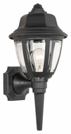 Thomas Lighting SL94427 Plastic Outdoor Traditional Black Finish 8 Wide Exterior Wall Lamp