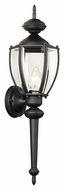 Thomas Lighting SL94767 Park Avenue Traditional Black Finish 24 Tall Outdoor Wall Mounted Lamp