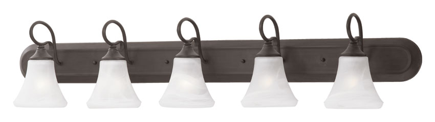 Enjoyable Thomas Sl744563 Elipse Transitional 48 Inch Wide Painted Bronze Bathroom Lighting Fixture Interior Design Ideas Grebswwsoteloinfo