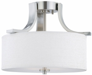 Thomas SL860978 Pendenza Contemporary Brushed Nickel Overhead Light Fixture