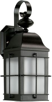 Thomas TG600176 Outdoor Essentials Traditional Black Outdoor Wall Light Sconce