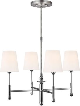TOB by Thomas O達rien TC1004PN Capri Modern Polished Nickel Chandelier Lighting