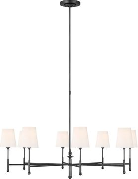 TOB by Thomas O達rien TC1028AI Capri Contemporary Aged Iron Chandelier Light