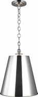 TOB by Thomas O�Brien TP1012PN Capri Modern Polished Nickel Pendant Lamp