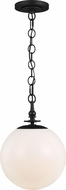 TOB by Thomas O�Brien TP1041AI Capri Contemporary Aged Iron Pendant Light Fixture