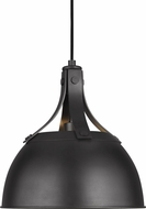 TOB by Thomas O�Brien TP1051AI Logan Contemporary Aged Iron Mini Hanging Pendant Lighting