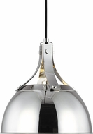 TOB by Thomas O�Brien TP1051PN Logan Modern Polished Nickel Mini Hanging Pendant Light