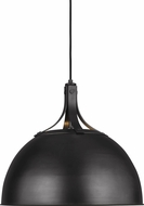 TOB by Thomas O�Brien TP1071AI Logan Contemporary Aged Iron 18  Ceiling Light Pendant