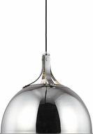 TOB by Thomas O�Brien TP1071PN Logan Modern Polished Nickel 18  Ceiling Pendant Light