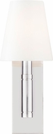 TOB by Thomas O�Brien TV1001PN Beckham Classic Contemporary Polished Nickel Wall Light Fixture