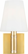 TOB by Thomas O�Brien TV1011BBS Beckham Classic Contemporary Burnished Brass Lighting Wall Sconce