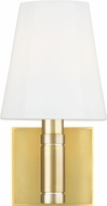 TOB by Thomas O�Brien TV1011BBS Beckham Classic Burnished Brass Wall Lighting Sconce
