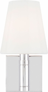 TOB by Thomas O�Brien TV1011PN Beckham Classic Contemporary Polished Nickel Wall Lighting Sconce