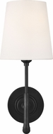 TOB by Thomas O�Brien TW1001AI Capri Aged Iron Wall Lamp