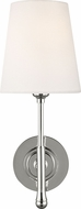 TOB by Thomas O�Brien TW1001PN Capri Polished Nickel Wall Lighting