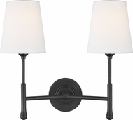 TOB by Thomas O�Brien TW1012AI Capri Aged Iron Sconce Lighting