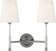 TOB by Thomas O�Brien TW1012PN Capri Polished Nickel Light Sconce