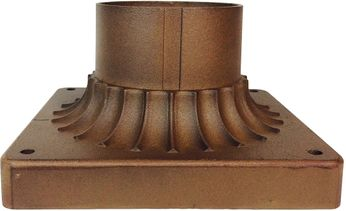 Trans Globe 100-AC Canby Antique Copper Exterior Post Mount