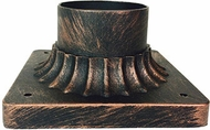 Trans Globe 100-BC Canby Black Copper Exterior Post Mount