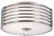 Trans Globe 10040-BN Breeze Contemporary Brushed Nickel 11  Flush Lighting