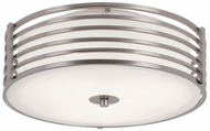 Trans Globe 10041-BN Breeze Modern Brushed Nickel 16  Flush Mount Lighting