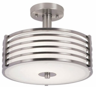 Trans Globe 10042-BN Breeze Modern Brushed Nickel Overhead Lighting
