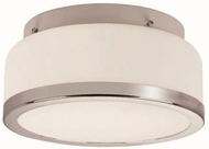 Trans Globe 10092-PC Rise Polished Chrome 8.5  Flush Lighting