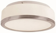 Trans Globe 10093-BN Rise Brushed Nickel 13  Flush Mount Lighting