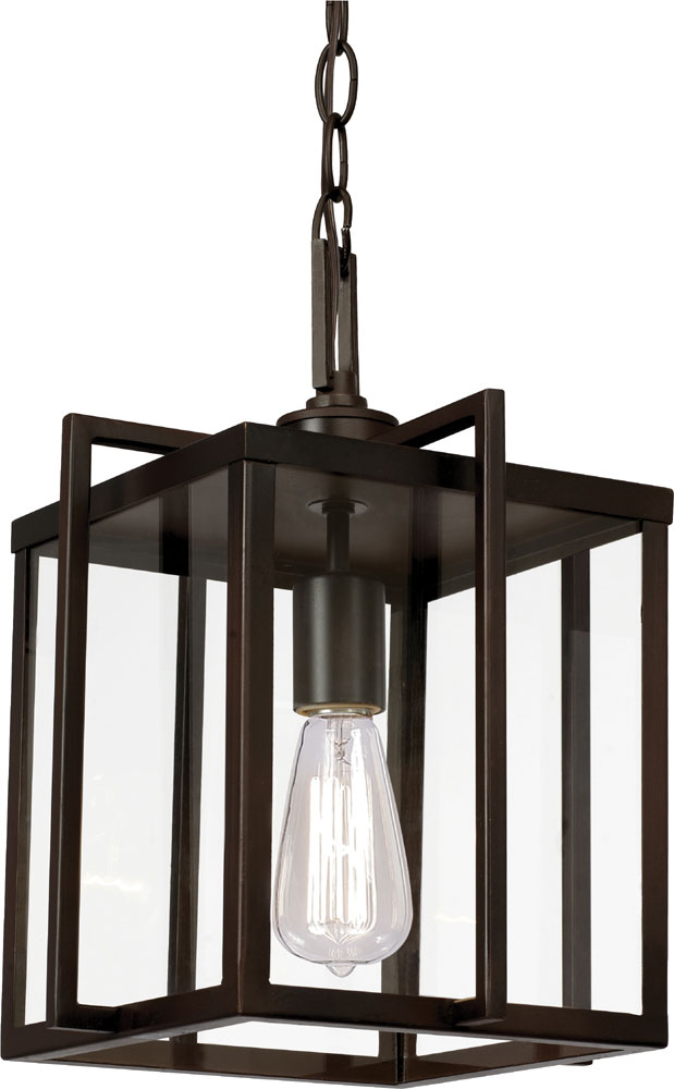 Trans Globe 10211 Rob Rubbed Oil Bronze Entryway Light