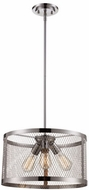 Trans Globe 10383-PC Mist Modern Polished Chrome 16  Drop Ceiling Lighting